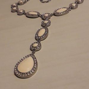 Cream Necklace
